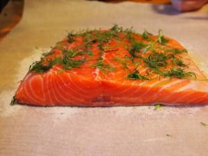 Salmon for omega 3 fatty acids