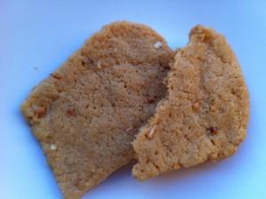 1 1/2 peanut butter cookies