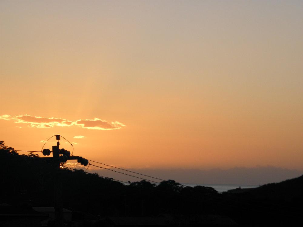 sunrise march equinox - merimbula nsw