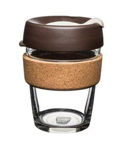 mocha lid with cork keep cup